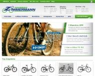 Bild Webseite Fahrrad Zimmermann München