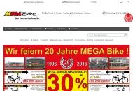 Website MEGA Bike - Flensburg