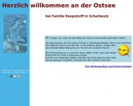 Bild Webseite  Scharbeutz