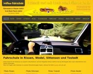 Bild Webseite Milko's Fahrschule Hamburg
