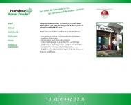 Bild Webseite Fahrschule Marcel Franke Berlin