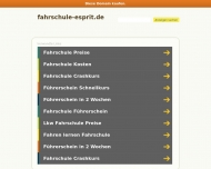 Bild Webseite Witze Heinz-Werner Fahrschule esprit Berlin