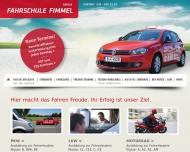 Bild Webseite Fimmel Bernhard Fahrschule Berlin
