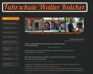 Bild Webseite Kalcher Fahrschule Berlin