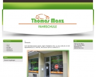 Bild Webseite Manz Thomas Fahrlehrer München