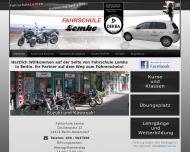 Bild Webseite Lemke Manfred Fahrschule Berlin
