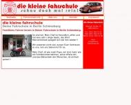 Bild Webseite Die Kleine Fahrschule Berlin
