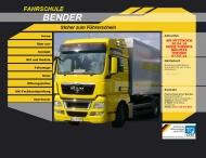 Bild Webseite Bender Arno Fahrschule Trebur