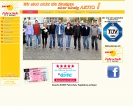 Bild Webseite SUNNY Fahrschule H.-P. Kamieth Magdeburg