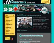 Bild Webseite Fahrschule Wittek Berlin