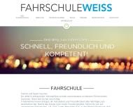 Bild Webseite Fahrschule Weiss München