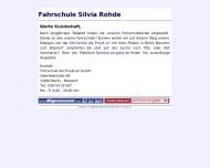 Bild Webseite Fahrschule Silvia Rohde Berlin