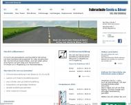 Website Fahrschule Seela & Böser Magdeburg, Hohenwarsleben ...