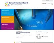 Bild Landshuter Lackfabrik Eduard Leiss GmbH