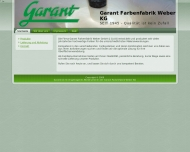 Bild Garant-Farben und Spachtel Günter Weber