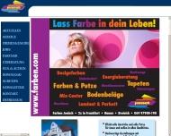 Willkommen bei www.farben.com Farben Jenisch Frankfurt am Main