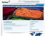 Website DyStar Textilfarben