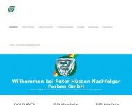 Bild Hüssen Nachfolger, Peter, Farben GmbH
