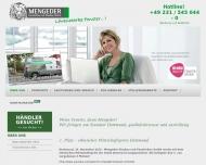 Website Mengeder Fensterbau und Glasbau