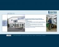 Website Leister / Leister Einrichtungshaus