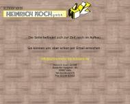 Bild Webseite Heinrich Koch Köln