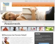 Bild Hebel, Alfred & Sohn GmbH Rollladen und Kunststofffenster