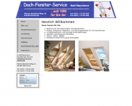 Website Dachfenster-Service Ralf Neumann