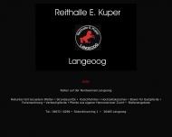 Bild Webseite  Langeoog