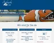 Bild Webseite Ertl Rosa Fischzucht München