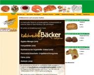 Bild Webseite Der Kalchreuther Bäcker M. Wiehgärtner Nürnberg