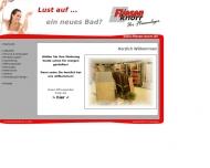 Bild Webseite Fliesenlegermeister Peter Knorr Annaberg-Buchholz