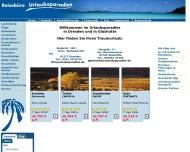 Bild Webseite Eberth Joachim Reisebüro Urlaubsparadies Dresden