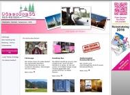 Bild Webseite Piccolonia Bus-Reisen Verwaltung Köln