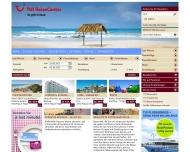 Bild Webseite Reisebüro im HessenCenter Frankfurt