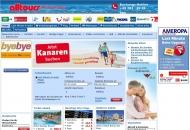 Bild Webseite Reisecenter Alltours Olaf Siggelkow Bremen