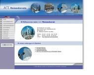 Bild Webseite ACL Frankfurt