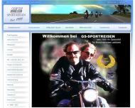 Bild Webseite GS Sportreisen München
