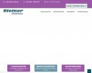 Bild Webseite Steiner Reisen Blaubach