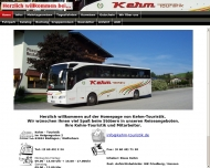 Website Kehm-Touristik