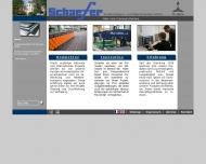 Website Schaefer Förderanlagen- und Maschinenbau