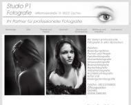 Bild Webseite Foto Studio P1 Dachau