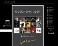 Bild Webseite Reiter Claudia Fotoatelier Dachau