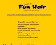 Bild Webseite Coiffeur FUN HAIR Berlin