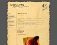 Bild Webseite Sabine Ertel selbstständige Friseurmeisterin & Diplom Coloristin Karlsruhe