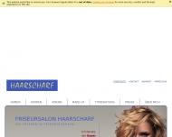 Bild Webseite Salon Haarscharf Ivonne Tessmer Berlin