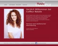 Bild Webseite Coiffeur Natalie Heilbronn