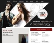Website Haupt Claudia Friseursalon Hair Event