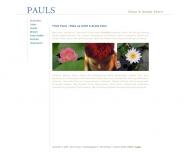 Bild Webseite Frisör Pauls Mainz