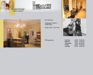 Website Frisör HAAREsZEIT Inh. Ines Weib