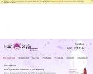 Bild Webseite Nurlasan Demirkol Hair u. Style Köln